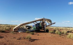 'Spirit' Stearman Crashes in Arizona