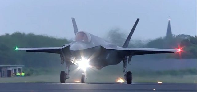 F-35s Make First Eastern Crossing of Atlantic