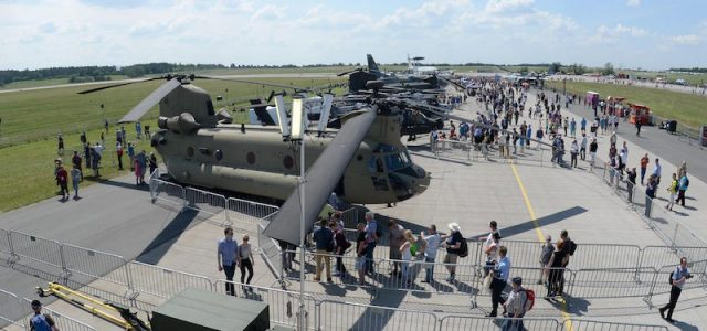 U.S. Showcases Aircraft in Berlin