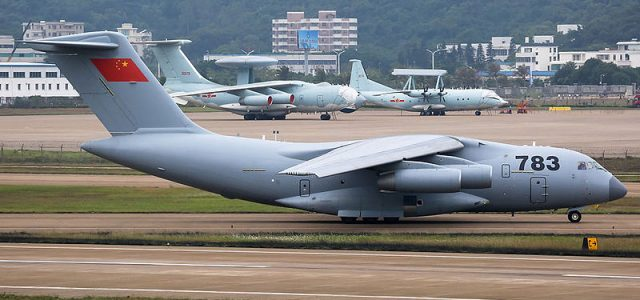 Chinese Military Adds Transport to Fleet