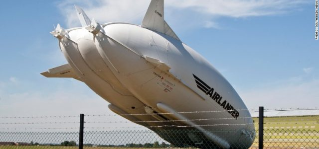 World's Largest Aircraft Crashes After Test Flight