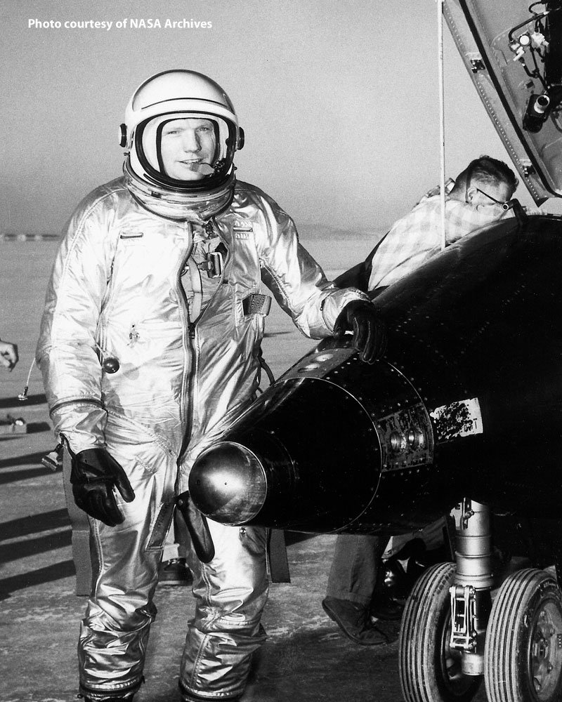 To go from flying Panthers to the X-15 was a giant step for a pilot, but one of which Armstrong was fully capable.