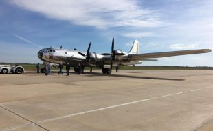 Video: B-29 Doc in flight