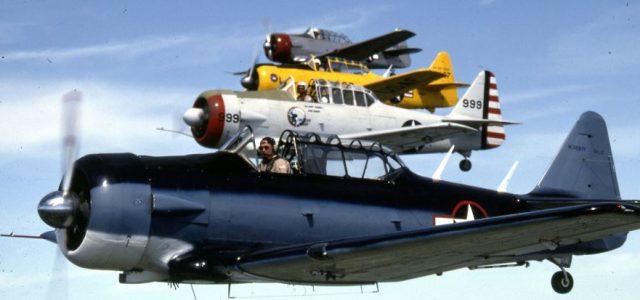 North American AT-6 Texan — The Pilot Maker!