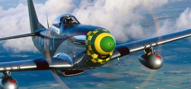 WW II Late War Aerial Combat – 55 Squadron Fighter Group