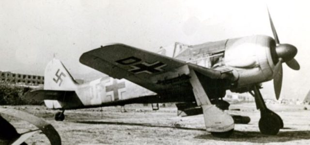 From the Air Age Archives —  Focke-Wulf Fw 190 Würger (Shrike)