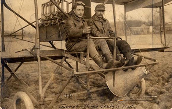 BERRY-Albert-Captain-U.S.-Army-and-JANNUS-Albert-1-March-1921-Jefferson-Barracks