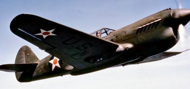 Friday Fighter: Curtiss P-40 Warhawk