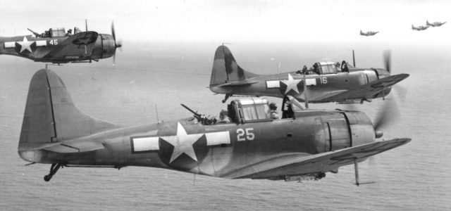 Douglas Dauntless – Slow But Deadly Dive Bomber – from the Flight Journal Archives