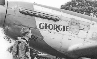 A P-40 Fighter Pilot's Inspiration: six year old Georgie Boy