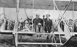History: First President to Fly