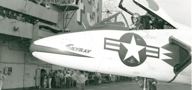 The Douglas F4D Skyray fighter – The Navy's Speedy Ford