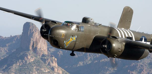 Multi-Engine Monday: B-25 Mitchells over the Mediterranean