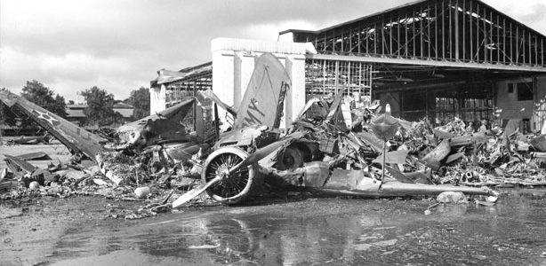 Pearl Harbor images of the Aftermath – December 8 and Onward