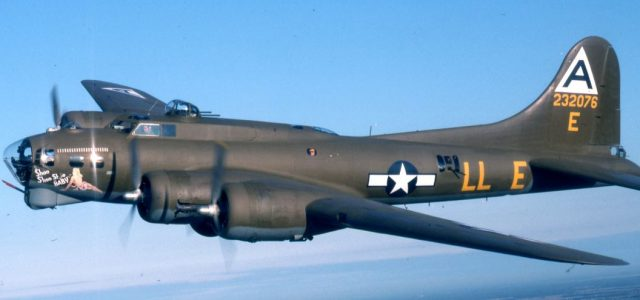 Boeing B-17 Flying Fortress Shoo Shoo Shoo Baby