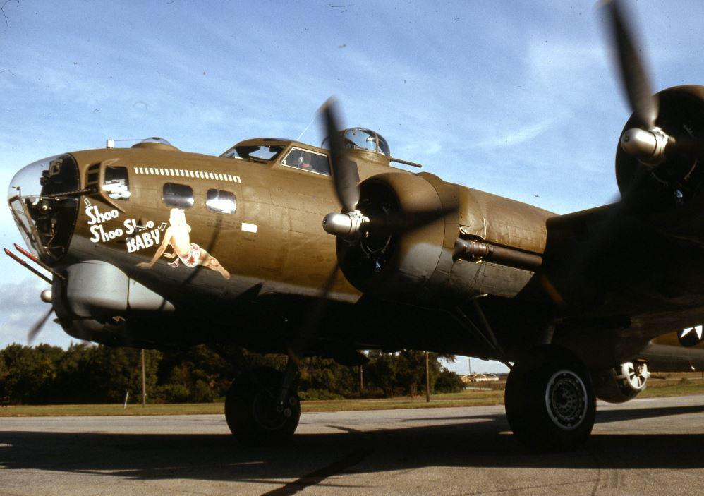 Shoo Shoo Shoo B-17 Flying Fortress