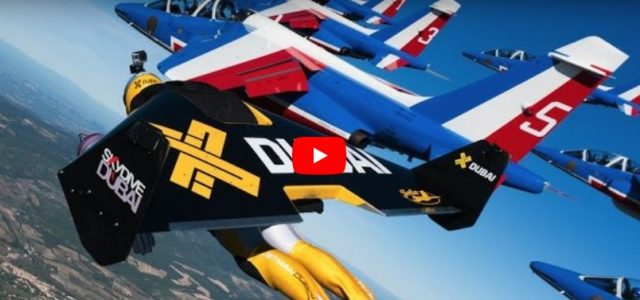 JetMEN: It's a Bird… It's a Plane… No, It's JetMEN… In formation with real jets!