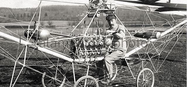 Aviation History – First Helicopter Flight-November 13, 1907