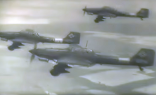 Rare WW II film: Luftwaffe Aircraft and Ground Crew