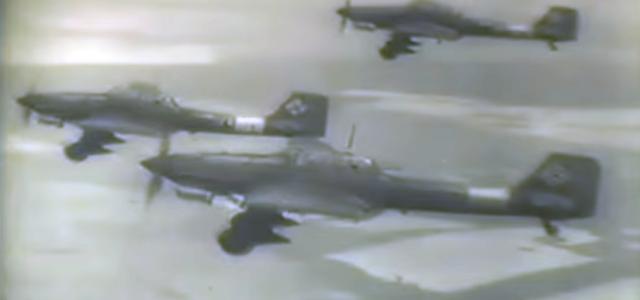Rare WW II film: Luftwaffe Aircraft and Ground Crew