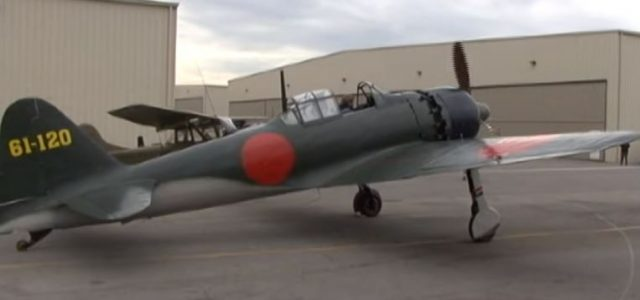 Video: Japanese Zero Starts Up