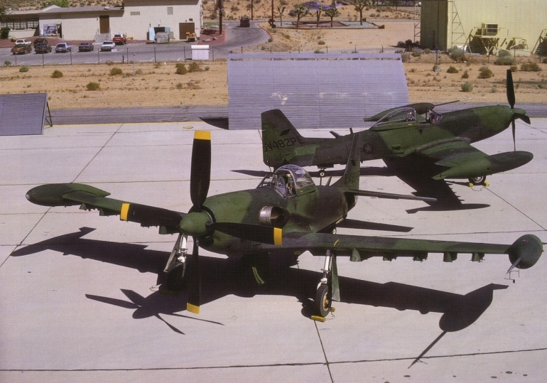 aviation history, USAF, ground attack aircraft, Mistang III, Piper PA-48, Enforcer