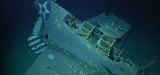 Treasures from the Deep — The USS Lexington gives up its Secrets