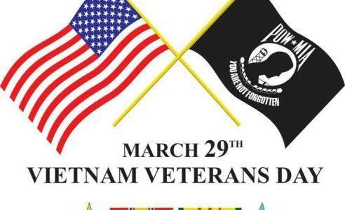 March 29, National Vietnam War Veterans Day