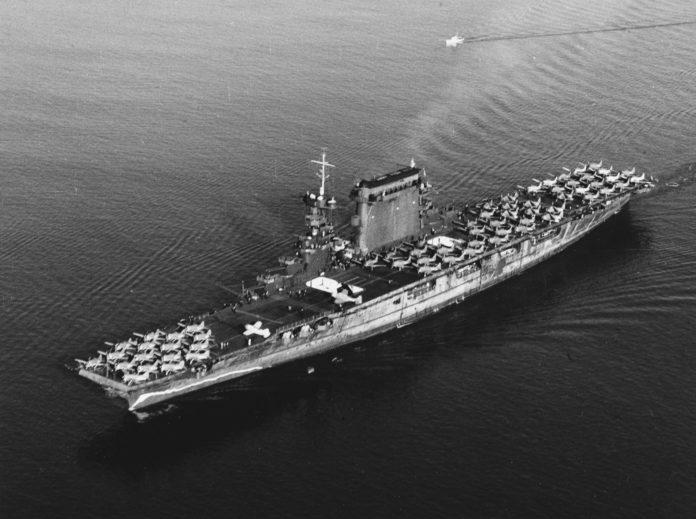 aircraft carrier, aviation history, Paul Allen, shipwreck, USS Lexington, WW2