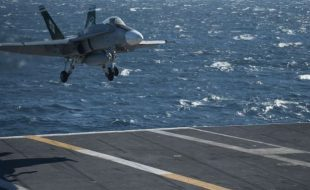 U.S. Navy Jet Fighter Lands on Aircraft Carrier using ATARI! What?!