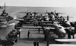 April 2, 1942 — The Response begins — USS Hornet Leaves Port on this Day