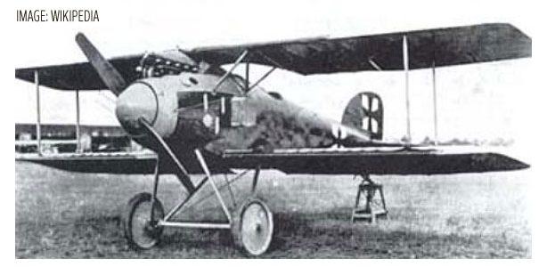 WWI's Albatros D.III