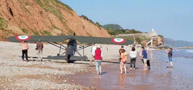 Morane-Saulnier Beach Landing