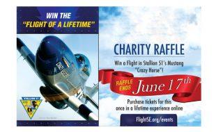 P-51 Mustang Flight Raffle- Drawing June 17th!