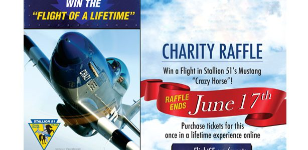 P-51 Mustang Flight Raffle- Drawing June 17th!