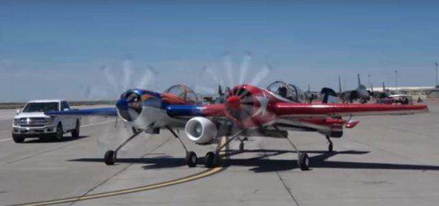 Airshow Debut… Yak-110
