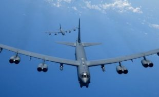B-52s Put on a Show of Force in the South China Sea
