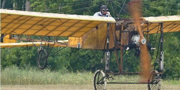 Learning to Fly at Old Rhinebeck Aerodrome