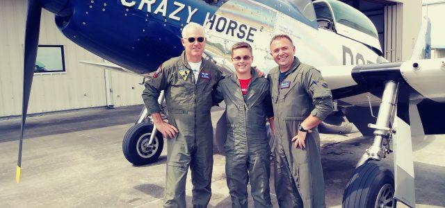 Photo of Andrew Pittman ACE Flight lead 2018