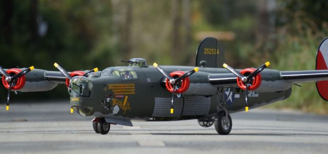 "Own your own B-24 Liberator — ""Giant Scale RC Witchcraft"""