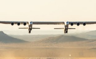 World's Largest All Composite Aircraft Takes off