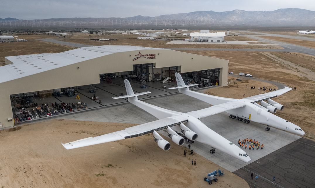 World's Largest All Composite Aircraft Takes off - Flight