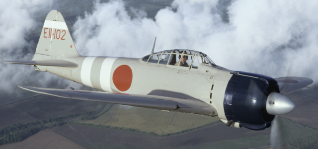 Wednesday Warbird: Mitsubishi Zero