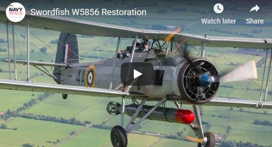 Fairey Swordfish Restoration [VIDEO]