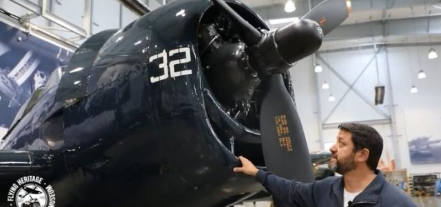 F6F Hellcat: Up Close & Personal [VIDEO]