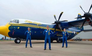 The Blue Angels' New Ride