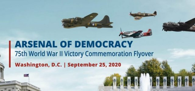 WW II Victory Commemoration Flyover in D.C.