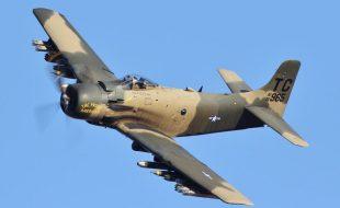 Ground Pounding Skyraider