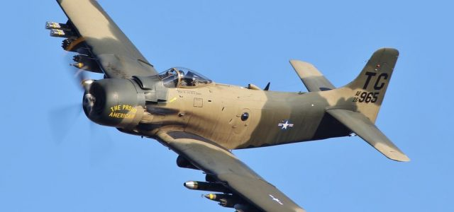 Ground Pounding Skyraider