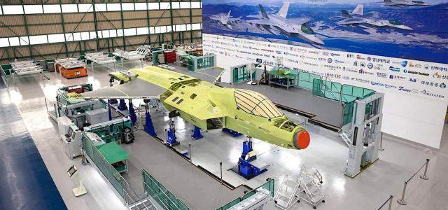 [VIDEO] Korean KF-X Prototype Assembly
